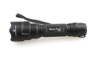 Manta Ray Mini C8 CREE XP-L Hi V3 2000lm 2 Grup Modları 5-Mode + 3-Mode LED el feneri (1x18650)