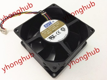 AVC DATA0838B8S P052 DC 48 V 0.48A 80x80x38mm 4-tel Sunucu Kare Fan