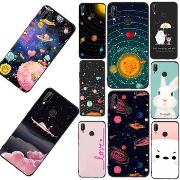 For huawei P9 lite Case Silicone Cute Cartoon Pattern Phone Shell for Huawei P20 Mate 10 P8 P9 lite Mini P Smart Cover Cell
