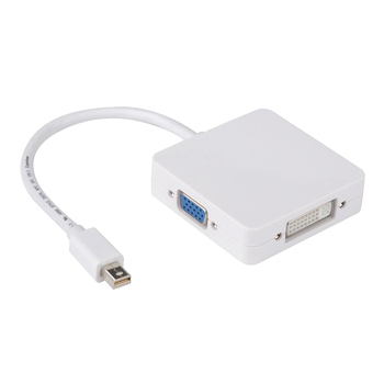 3 in1 DVI VGA HDMI Adaptör Kablosu Display Port dp Thunderbolt için MacBook
